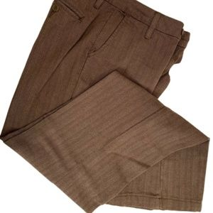 Lee Rider Casual Pants Brown Pin Stripe W-6